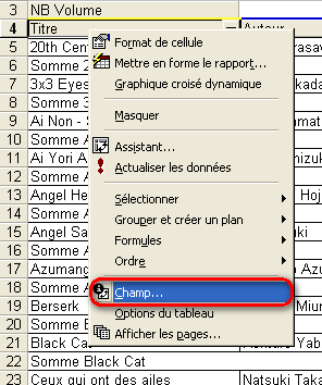 Modification de la mise en page du champ titre