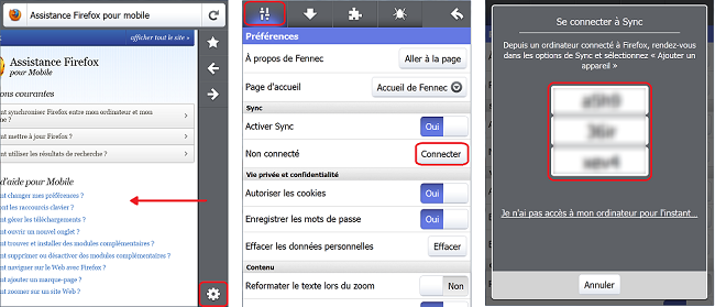 Firefox Mobile pour Android