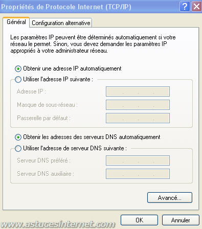 adresse IP dynamique