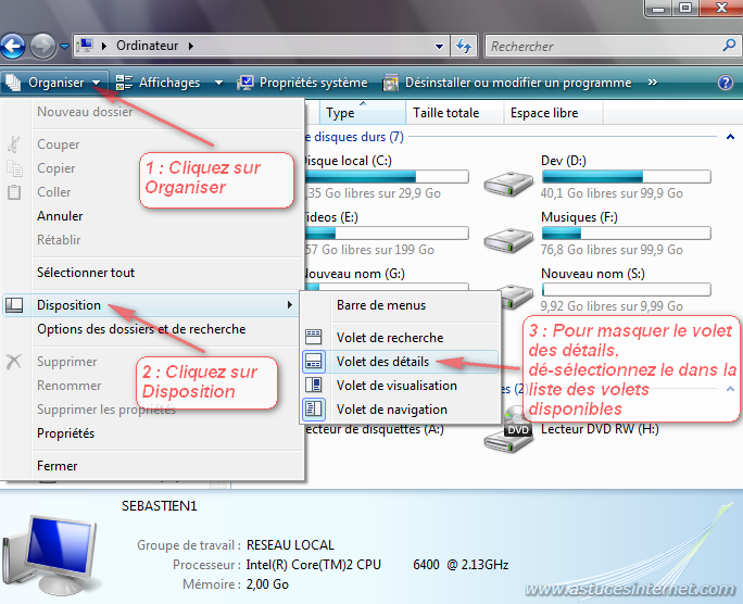 comment retrouver l explorateur windows sur vista