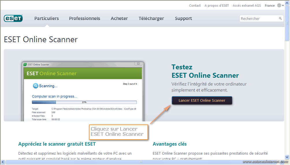 ESET Online Scanner
