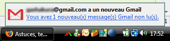 Notification Gmail Notifier