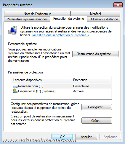 Syst me syst me d 39 exploitation windows 7 panneau de - Activer le bureau a distance windows 7 ...