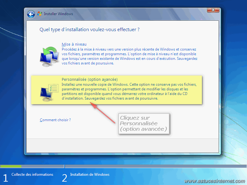 Créer un support d'installation (clé USB ou DVD) de Windows ...