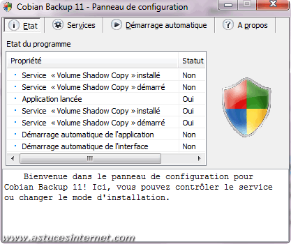 Cobian Backup - Options
