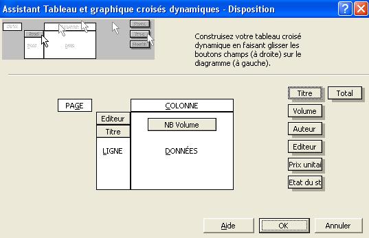Exemple de création d'un tableau croisé dynamique