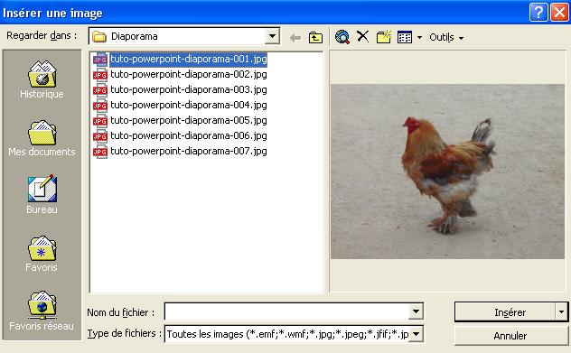 cr u00e9er un diaporama d u0026 39 images avec powerpoint - bureautique