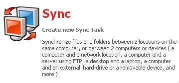 GFI Backup 2009 : Sync