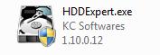 Exécutable HDDExpert