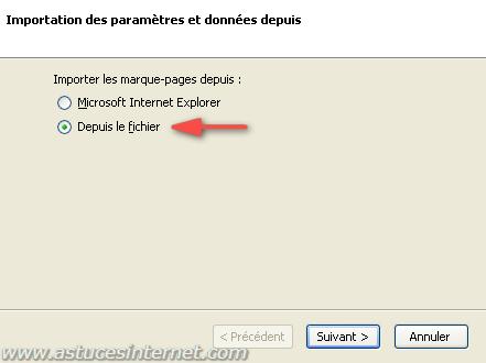 Importer une sauvegarde de ses marque-pages dans Firefox