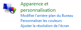 Apparence et personnalisation