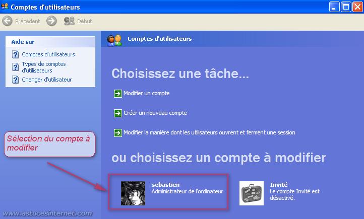 Module Compte utilisateur