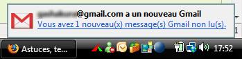Notification Gmail Notifier