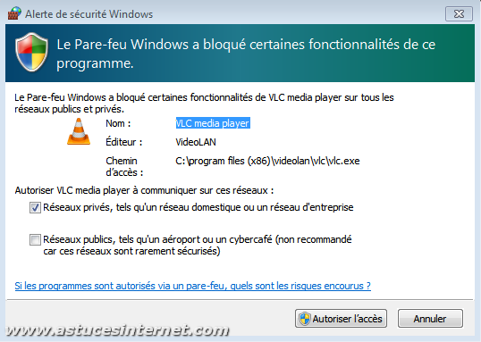 Pare-feu Windows