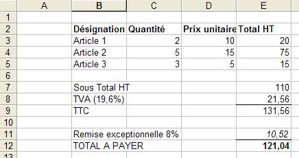 Comment Faire Des Formules De Calcul Pour Les Pourcentages Forum