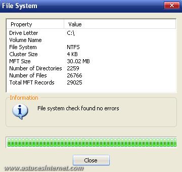 Macrium Reflect : File System