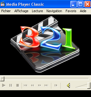 Interface de Media Player Classic